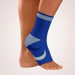 BORT 054700 TaloStabil® bandažer nožni zglob levi belo plavi XL