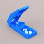 BORT 108040 EasyLife® sekač za lekove PLAVI