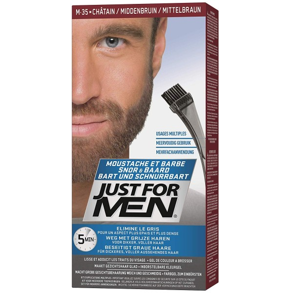 JUST FOR MEN COLOR GEL - SMEĐI