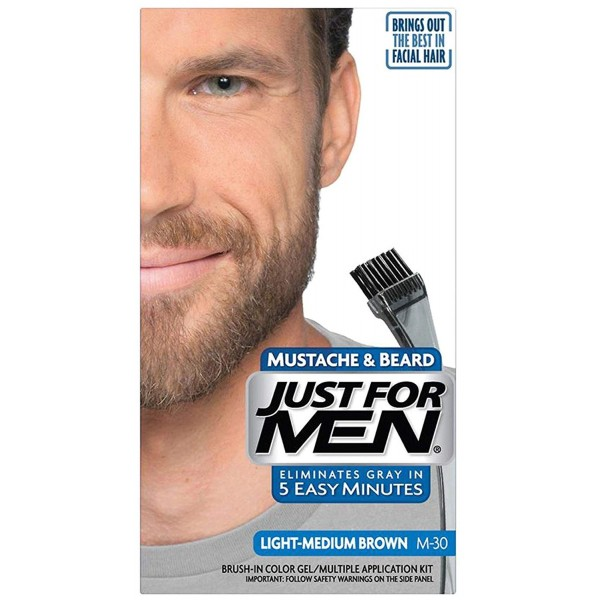 JUST FOR MEN COLOR GEL - SVETLO SMEĐI