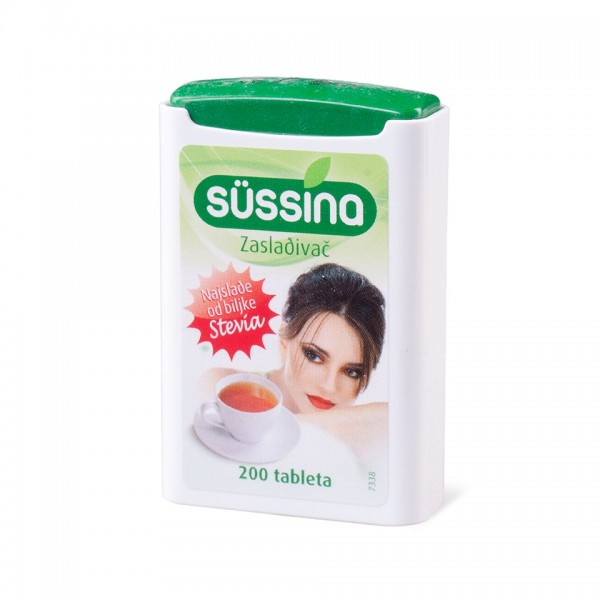 SUSSINA STEVIA 200 tableta