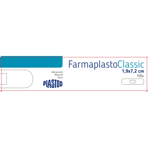 PLASTOD KLASIČAN FLASTER 1,9x7,2 a100 R220