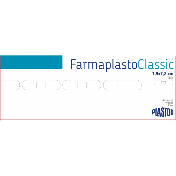 PLASTOD KLASIČAN FLASTER 1,9x7,2 a1000 R223